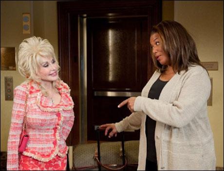 Dolly Parton and Queen Latifah