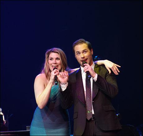 Heidi Blickenstaff and Josh Strickland