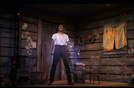 Scatliffe played Jud Fry in 5th Avenue Theatre's production of Oklahoma!
