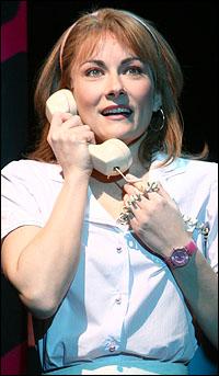 Laura Benanti in <i>The Wedding Singer</i>.