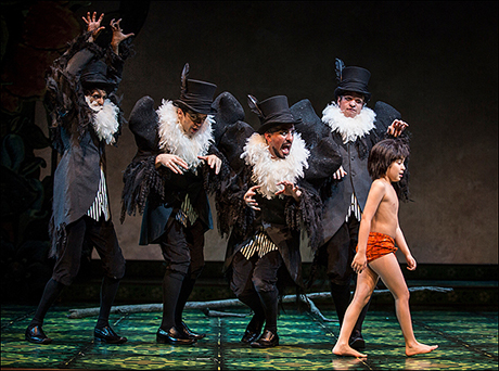 The world premiere of The Jungle Book officially opened at Chicago's Goodman Theatre in July.