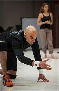 Usman Ally in rehearsal