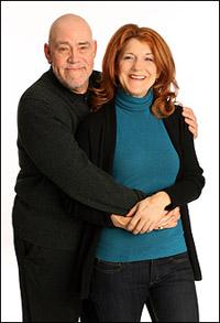 Conrad John Schuck and Victoria Clark