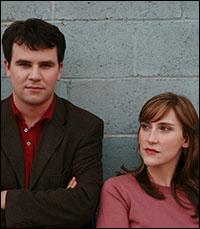 Brian Lowdermilk and Kait Kerrigan