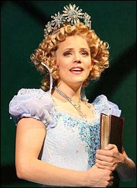 Katie Rose Clarke as Glinda