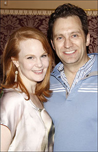 Kate Baldwin and Graham Rowat