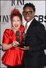 Cyndi Lauper and Billy Porter
