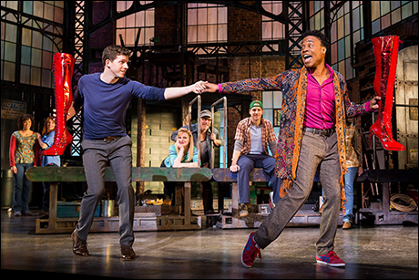 Kinky Boots took home six Tony Awards including Best Musical, Best Score, Best Choreography and Best Actor