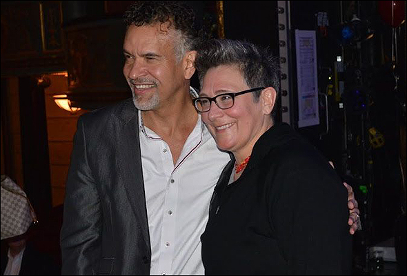 Brian Stokes Mitchell and k.d. lang