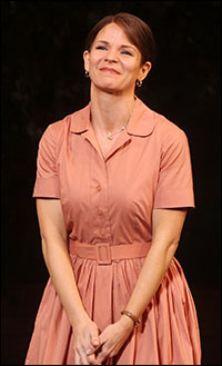 Kelli O'Hara on opening night