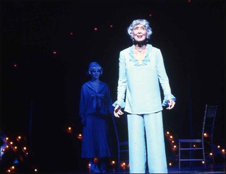 Kelli O'Hara and Betty Garrett in Follies