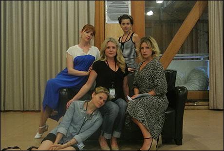 The Colby Sisters: Celia Keenan-Bolger; Holley Fain, Jeanine Serralles and Ari Graynor.