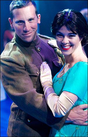 Ladies and gentlemen, Robbie Roby and Lauren Linville!
