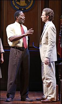 John Douglas Thompson and Sebastian Arcelus