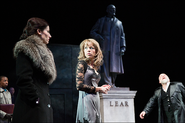 Kate Fleetwood, Anna Maxwell Martin and Simon Russell Beale