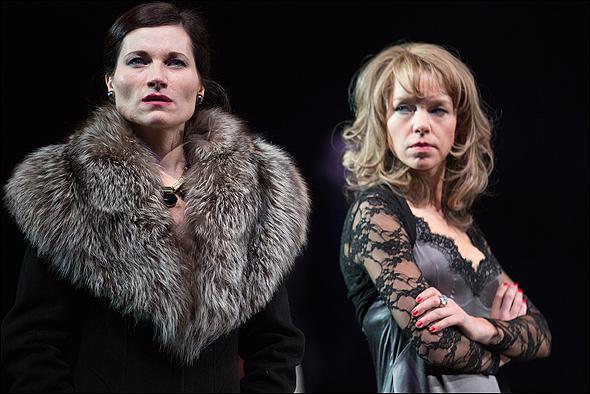 Kate Fleetwood and Anna Maxwell Martin