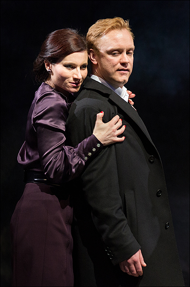 Kate Fleetwood and Sam Troughton