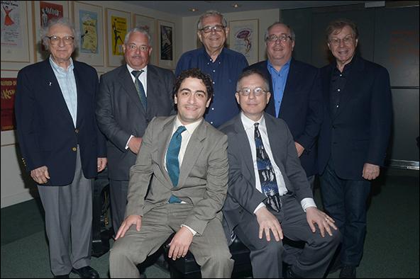 Sheldon Harnick, Elliot Brown, Richard Maltby Jr., Richard Terrano, Maury Yeston, Daniel Mate and Alan Gordon