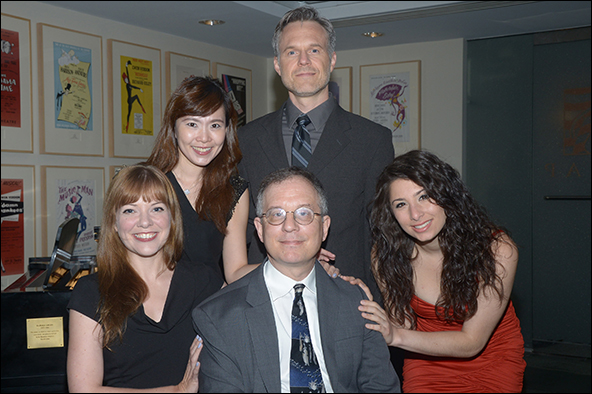 Jillian Louis, Joy Son, Jonathan Rayson and Tara Novie with Alan Gordon