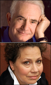 Richard Kline and Randy Danson
