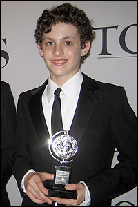 Trent Kowalik and his Tony Award