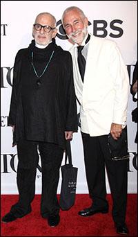 Larry Kramer and David Webster