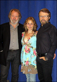 Benny Andersson, Helen Sjöholm and Björn Ulvaeus