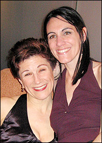 Lisa Kron and Leigh Silverman