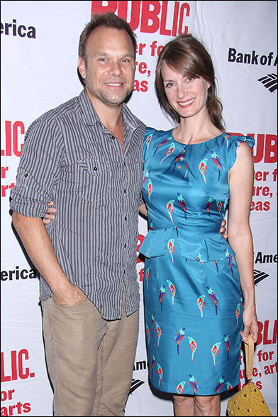 Norbert Leo Butz and Michelle Federer
