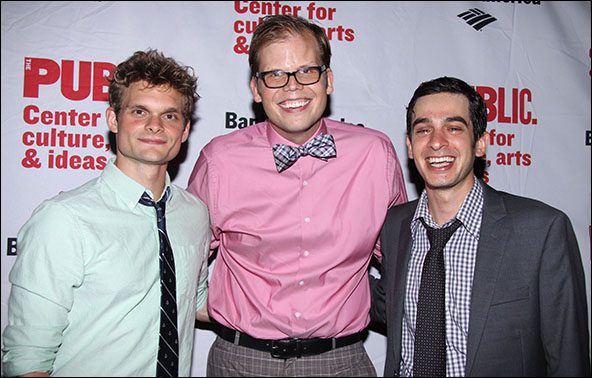 Andrew Durand, Jeff Hiller and Justin Levine