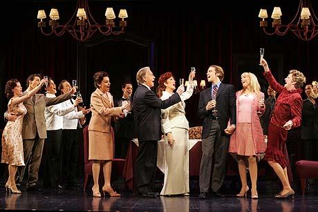 The Company of La Cage aux Folles