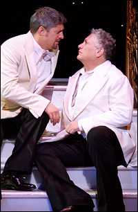 Christopher Sieber and Harvey Fierstein