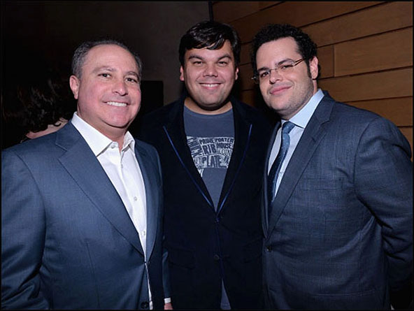 Alan Bergman, Bobby Lopez and Josh Gad