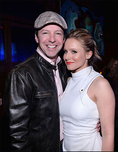 Sean Hayes and Kristen Bell