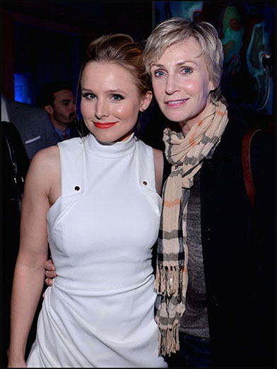 Kristen Bell and Jane Lynch, A Celebration of the Music of Frozen, 2014