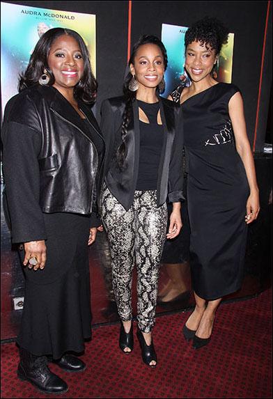 LaTanya Richardson Jackson, Anika Noni Rose and Sophie Okonedo