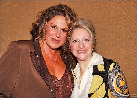 Lainie Kazan and Julie Budd