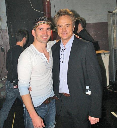 Cast member Paris Remillard and Bradley Whitford