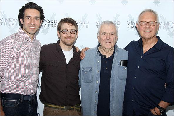 Josh Rhodes, Greg Pierce, John Kander and Walter Bobbie