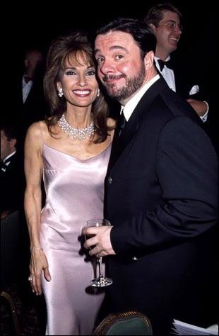 Nathan Lane with Susan Lucci at the 2001 Tony Awards Ball