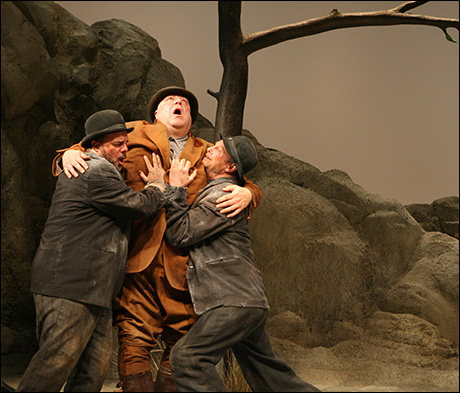 Nathan Lane, John Goodman and Bill Irwin in Waiting for Godot