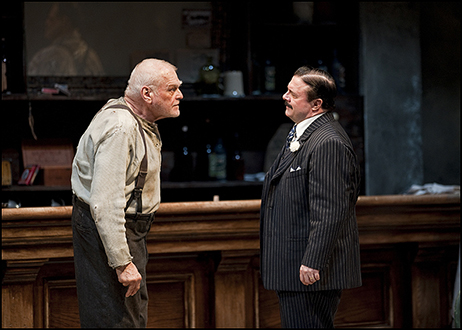 Brian Dennehy and Nathan Lane in The Iceman Cometh at Chicago's Goodman Theatre