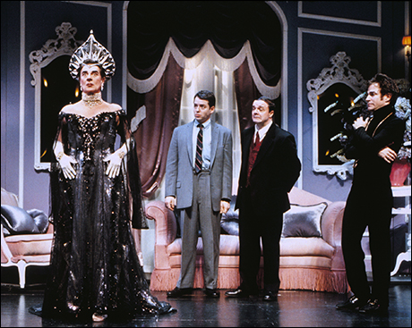 Gary Beach, Matthew Broderick, Nathan Lane and Roger Bart in The Producers