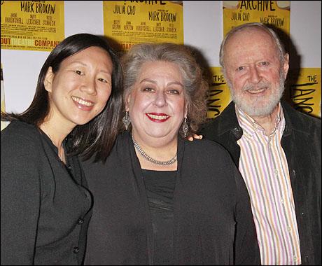 Julia Cho, Jayne Houdyshell and John Horton