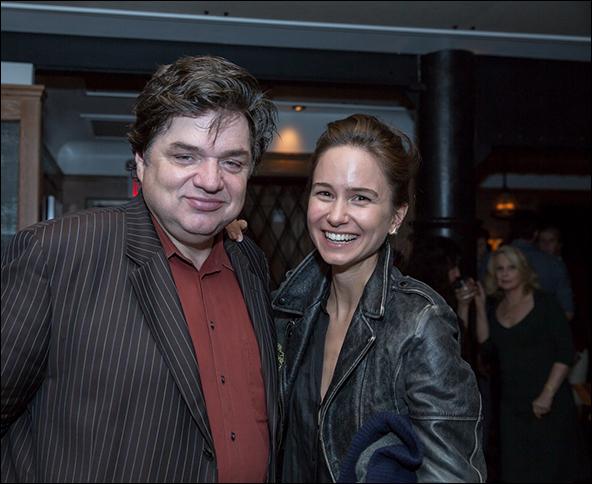 Oliver Platt and Katherine Waterston