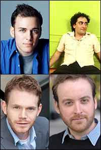 (Clockwise from top left) Peter Lerman, Daniel Mat