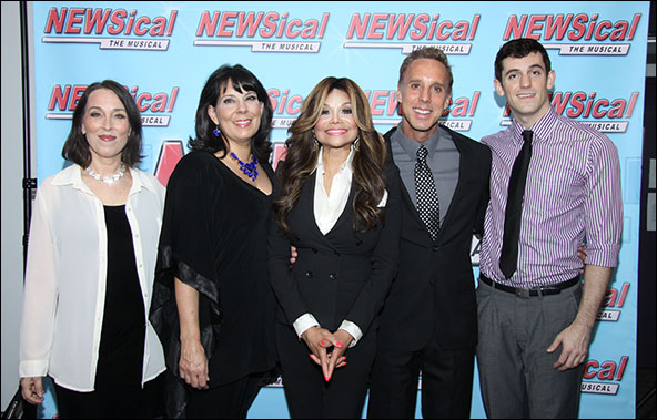 Susan Mosher, Christine Pedi, La Toya Jackson, Michael West and Dylan Thompson