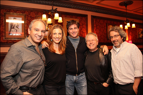 Michael Kosarin, Jessica Phillips, Glenn Slater, Alan Menken, Warren Leight