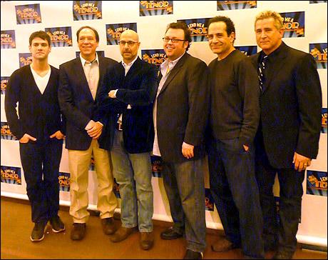 Justin Bartha, Ken Ludwig, Stanley Tucci, Jay Klaitz, Tony Shalhoub and Anthony LaPaglia