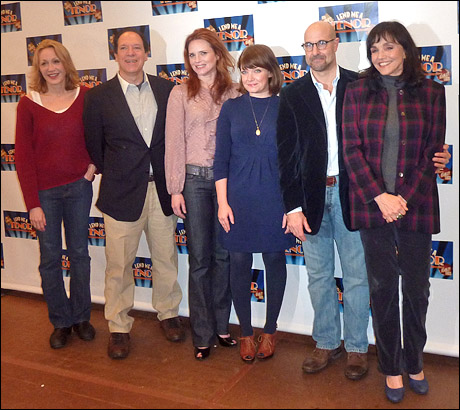 Jan Maxwell, Ken Ludwig, Jennifer Laura Thompson, Mary Catherine Garrison, Stanley Tucci and Brooke Adams